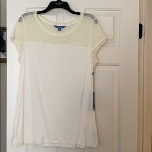 Lacey shirt top